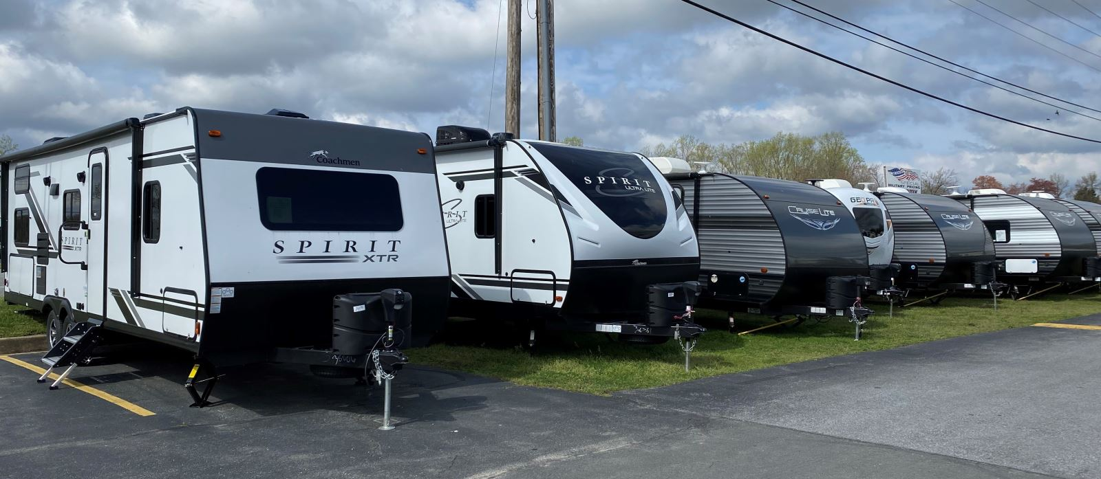 RVs on the Lot